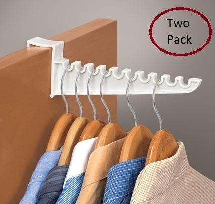 9 Laundry Over the Door Hook 2 Pack