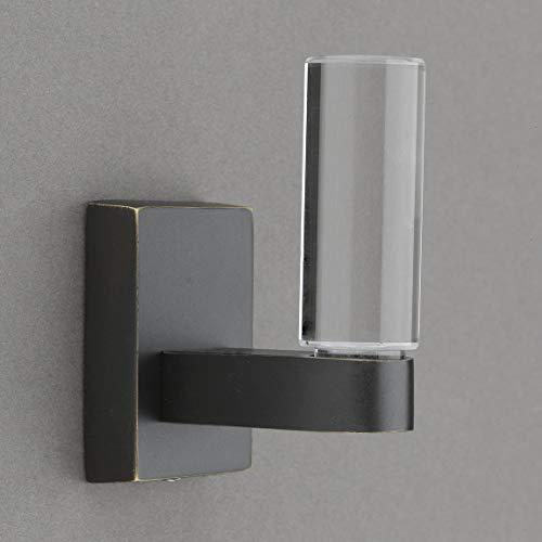 Belle Crystal Collection Bronze Towel HookRobe Hook - Good for Kitchen Bathroom Bedroom Or Closet Hardware