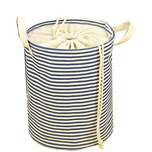 SMART HOME CHEF Storage BasketsCollapsible Convenient Nursery HamperLaundry BinToy Collection Organizer for Kids Room