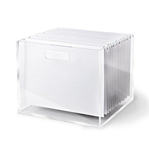 RussellHazel Acrylic File Box 80433