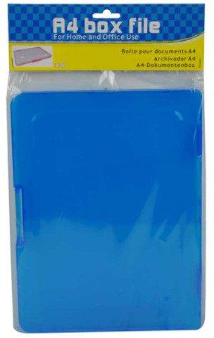 Flat Plastic File Box 4 pcs sku 1279213MA