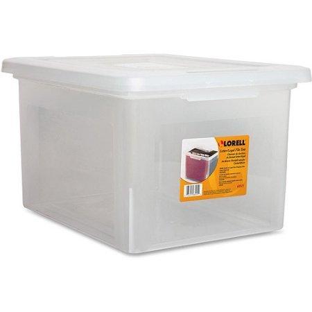 Lorell LetterLegal Plastic File Box