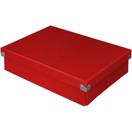 Pop N Store Document Box Red