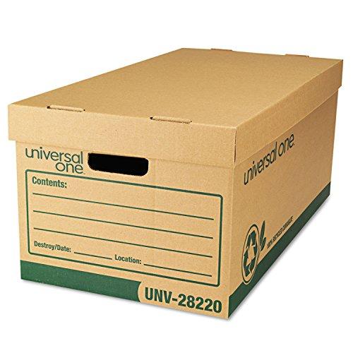 UNV28220 - Universal Recycled Record Storage Box