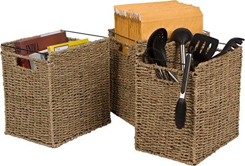 Trademark Innovations File Basket Tan