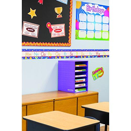 Bankers Box Classroom 6 Shelf Organizer 18H x 12W x 13 14D 3381201