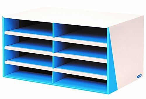 Bankers Box Premier 8-Compartment Sorter Blue 7649401