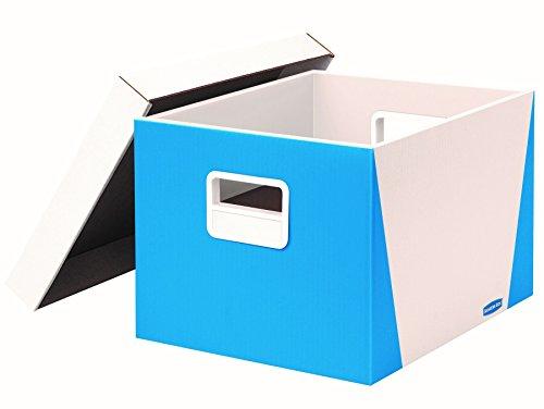 Bankers Box Premier StorFile Boxes LetterLegal Size Blue 7648901