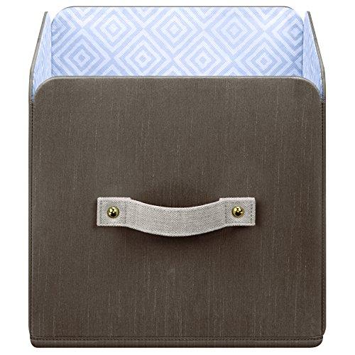 SOFI by Bankers Box Brix Box Small Closet Storage Foldable Storage Cube Basket