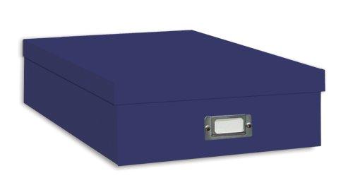 Pioneer Jumbo Scrapbook Storage Box Blue
