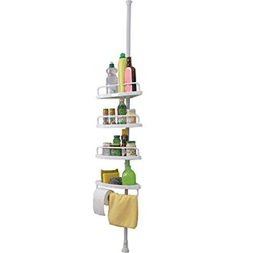 Pinleg Multi-Function 4 Shelves Bathroom Rack Bathtub Shower Caddy Holder Corner Rack Shelf Organizer Accessory for Bathroom
