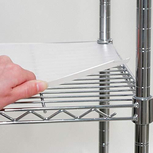 Clear Shelf Liner Plastic Matte Finish 4 PK