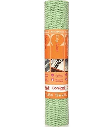 Con-tact Brand 05f-c6h17-06 Grip Premium Non-adhesive Shelf Liner Sage 12 X 5 Pack of 6