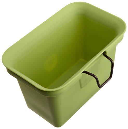Full Circle Scrap Happy Food Scrap Collector and Freezer Compost Bin Green