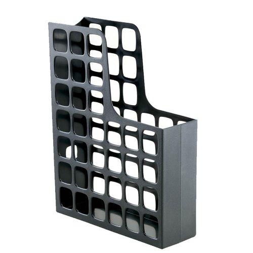 Oxford DecoFile Plastic Magazine File Black 24466