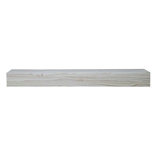 Pearl Mantels Dakota 48-Inch 2 Drawer Storage Shelf Unfinished Distressed
