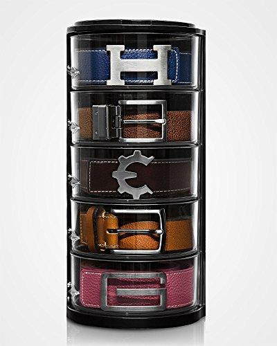 ELYPRO The Belt Organizer Rolled Belts StorageOrganizerAcrylicOne of a Kind