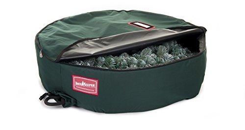 Tree Keeper Wreath Keeper - Artificial Wreath Storage Bag-60 Green 60D x 60W x 12H by TreeKeeper