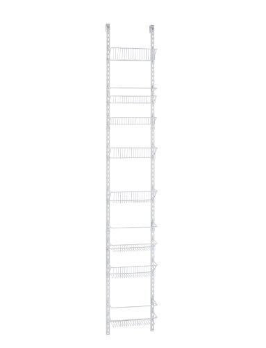 ClosetMaid 1231 Adjustable 8-Tier Wall and Door Rack 12-Inch Wide