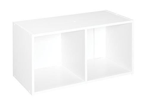 ClosetMaid 8947 Cubeicals Organizer 2-Cube - White
