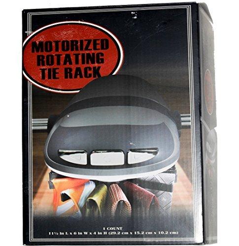 Motorized Rotating Tie Rack