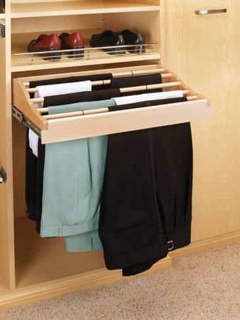 CWPR-2414-2 24 W Pants Rack-Wood