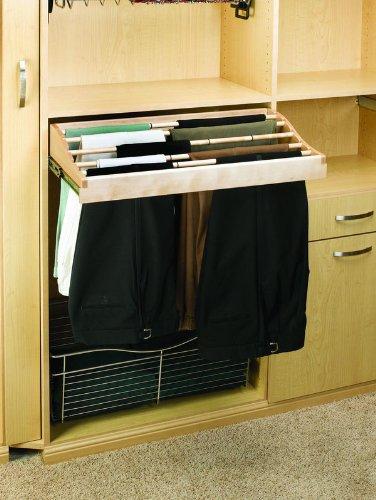 Rev-A-Shelf CWPR-3014-2 30 Pants Rack Natural