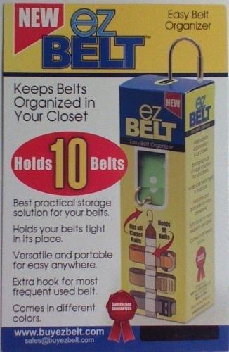 Belt Holder Tie Necktie Hanger Organizer Scraf Clothes Clothing Closet Rack