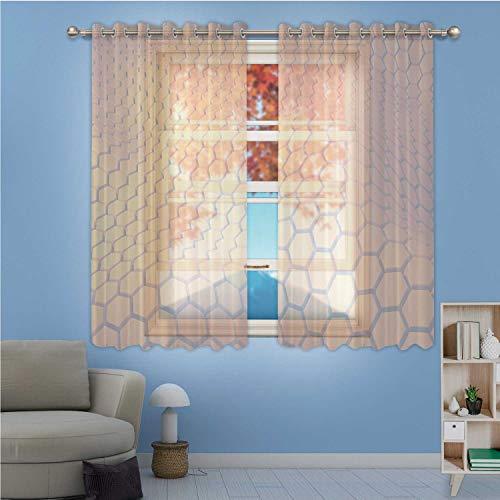 MOOCOM Christmas Tree Boxes InteriorLong Curtains Xmas Gift XS826 Window Treatments Wide 214 inch x High 275 inch
