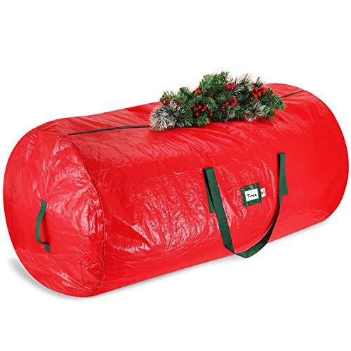 StorageMaid Christmas Tree Storage Bag - Christmas Tree Bag Up to 75 Feet Tree - Waterproof Christmas Tree Storage Box for Artificial Trees