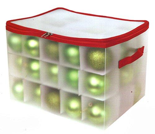45 3 Ornament Organizer Storage Box Bin Christmas Tree Bulb Holiday