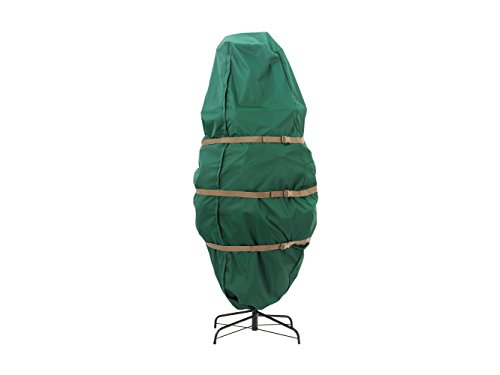 CoverMates – Holiday Upright Tree Storage Bag – Fits 5 to 75 Foot Tree – 3 Year Warranty- Green