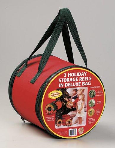 Dyno Seasonal Solutions 92435-112 3 Holiday Storage Reels in a Bag