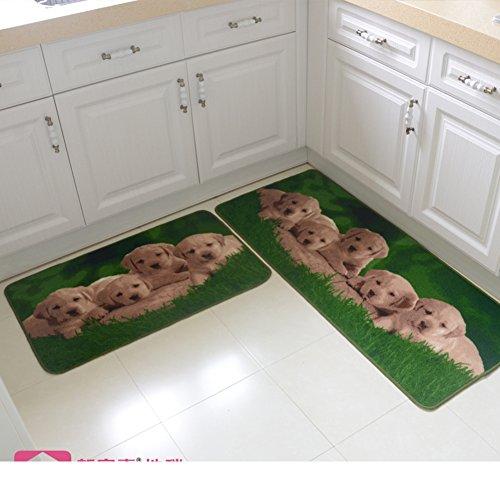 floor matdoormatKitchen absorbent oil absorption padsWaterproof bathroom matThe balcony sliding door wardrobe bar pad-F 50x120cm20x47inch