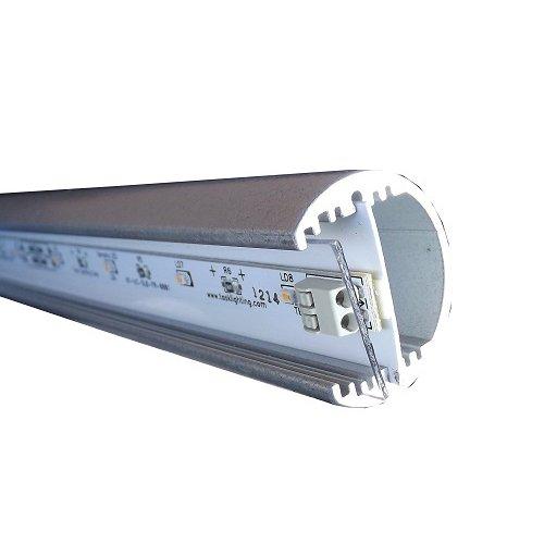 Task Lighting LCR72-22-P-SN30 - Task Lighting Sempria 72 LED Closet Rod - 22 Watts - 3000 Kelvin Neutral White - Satin Nickel