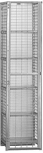 Salsbury Industries Assembled Security Cage Storage Locker Standard