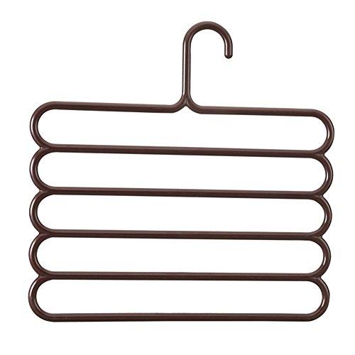 hanging pants rack pantsPlastic pants for household useMultilayerS pants hanger-B