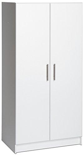 Prepac Elite Storage Cabinet 32 W x 65 H x 16 D White