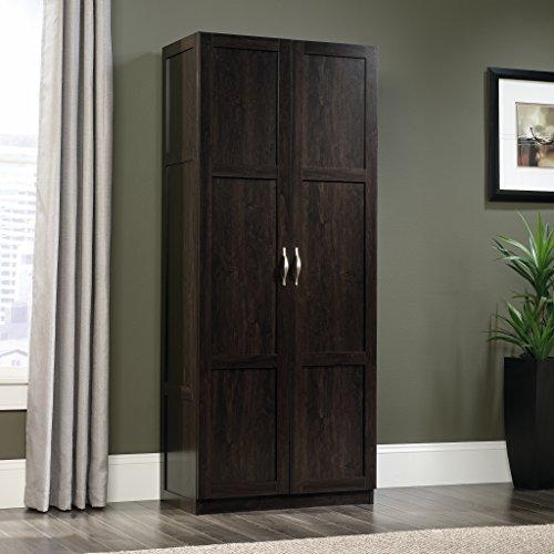 Sauder 419496 Miscellaneous Storage Storage Cabinet L 2961 x W 1602 x H 7150 Cinnamon Cherry finish