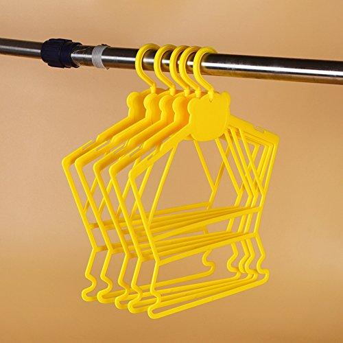 Childrens Plastic HangersClothing Store Seamless Non-slip Coat Hanger Home Wardrobe Hangers-K