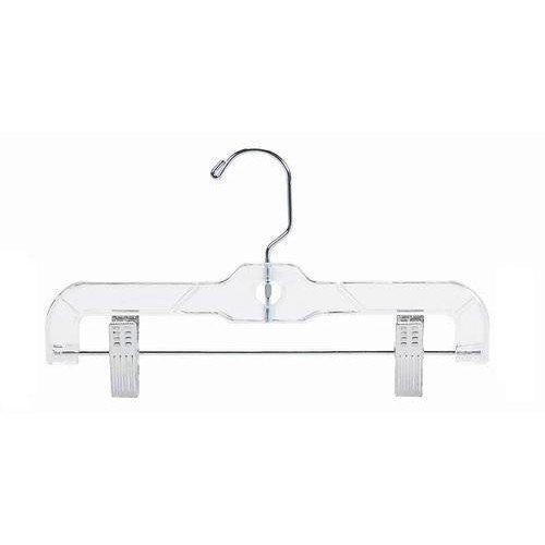 Only Hangers Childrens Clear Plastic PantSkirt Hanger - 10 25