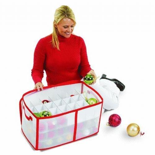 SantaS Choice Ornament Storage Bag