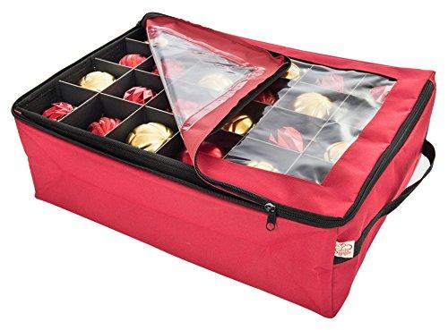 Santas Bags Ornament Storage Bag with 2 Trays