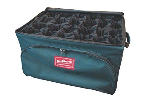 Tree Keeper TK-10708 Plush Velour Lined Adjustable Ornament Storage Bag