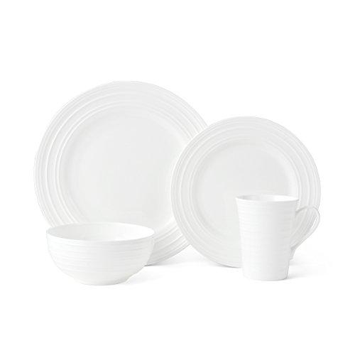 Mikasa 5224193 Ciara 16-Piece Dinnerware Set Service for 4