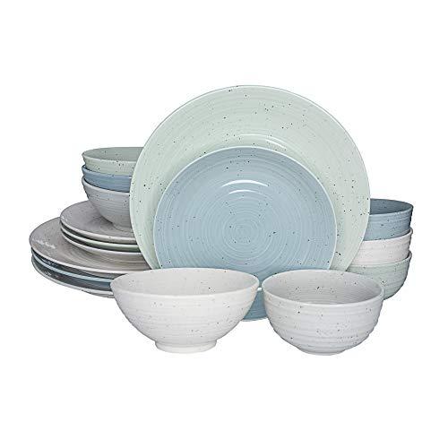 Siterra Mixed 16 Piece Dinnerware Set