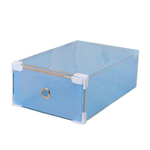 Storage Box Collection Womens Shoe Box Shoe Storage Blue