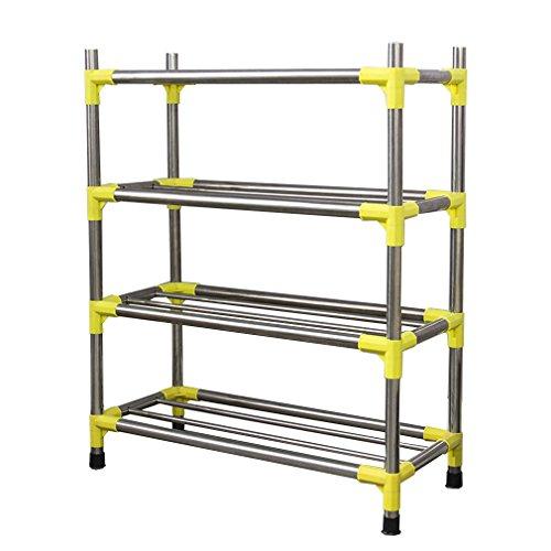 YISUMEI Stainless Steel Shoe Rack 5 Tiers
