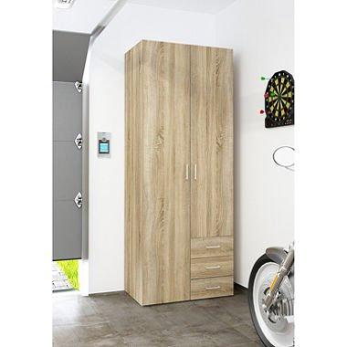 D-Scan Large Garage Storage Cabinet 31W x 79H