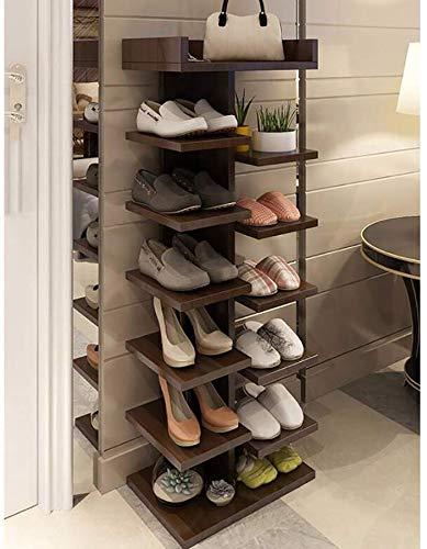 Home Simple Shoe Cabinet Multifunction Multifunction Multifunction Shoe Cabinet Solid Wood Door Shoe Holder Dust
